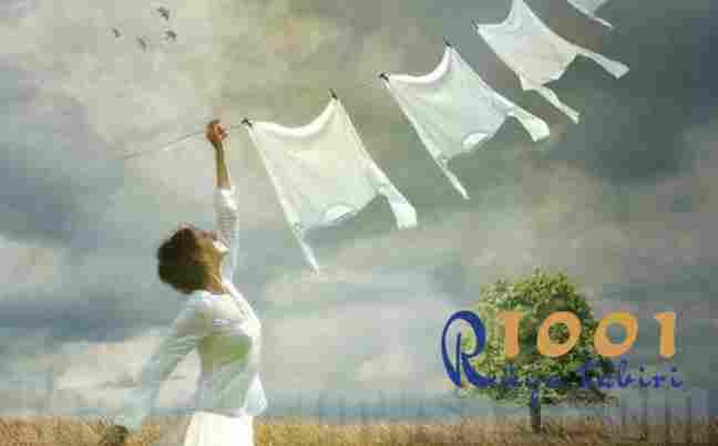 Rüyada çamaşır görmek, asmak veya yıkamak ne demek?