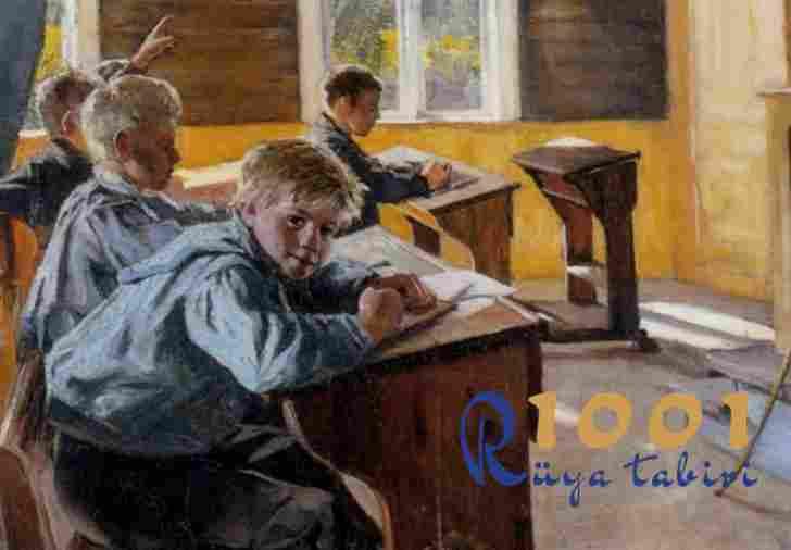 Rüyada okul gormek ne demek? 1001ruyatabiri.com