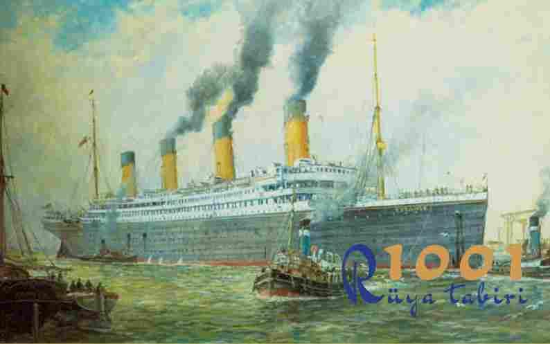 Rüyada gemi görmek neye işarettir.? www.1001ruyatabiri.com