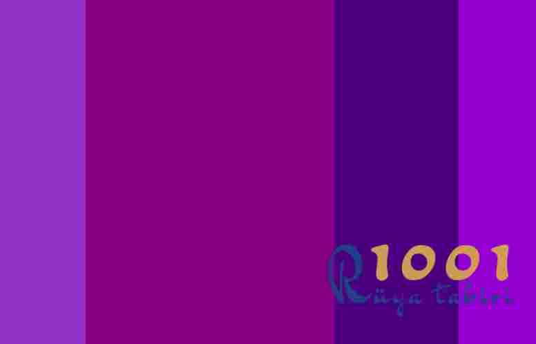 Rüyada Mor Renk Görmek- Rüyada Mor Elbise Görmek www.1001ruyatabiri.com