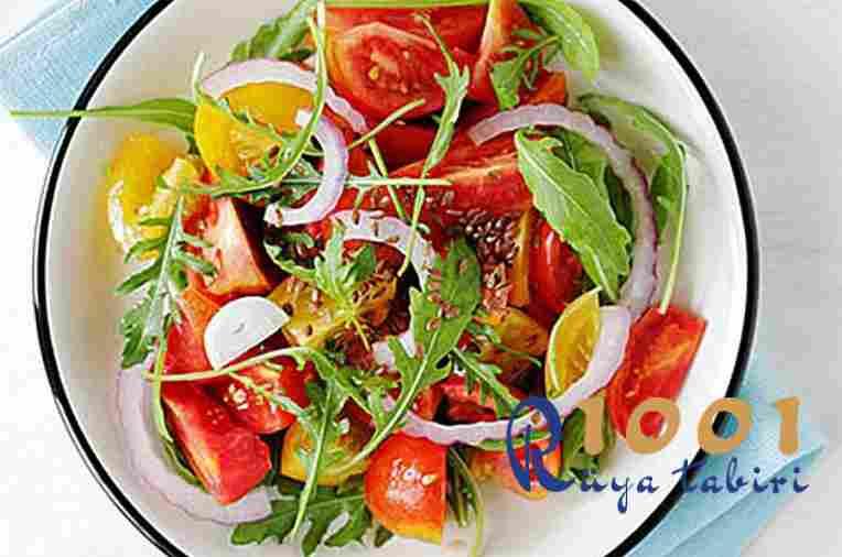 Ruyada Salata Gormek-Yemek-Yapmak Neye-isarettir-dini islami-diyanet ruya yorumu