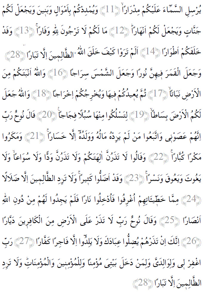 cenneti-gosteren-dua-Nuh-suresi-ayetleri-arapca-yazilisi-turkce-okunusu-anlami-yazilmisi-cennetteki-yerinizi-gosteren-dua-1001ruyatabiri