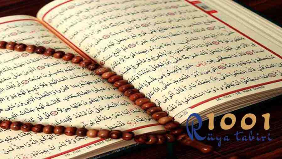 ruyada dua okumak-dua gormek-sure okumak sure gormek-kurani kerim gormek okumak-arapca yazi gormek okumak-ayet gormek