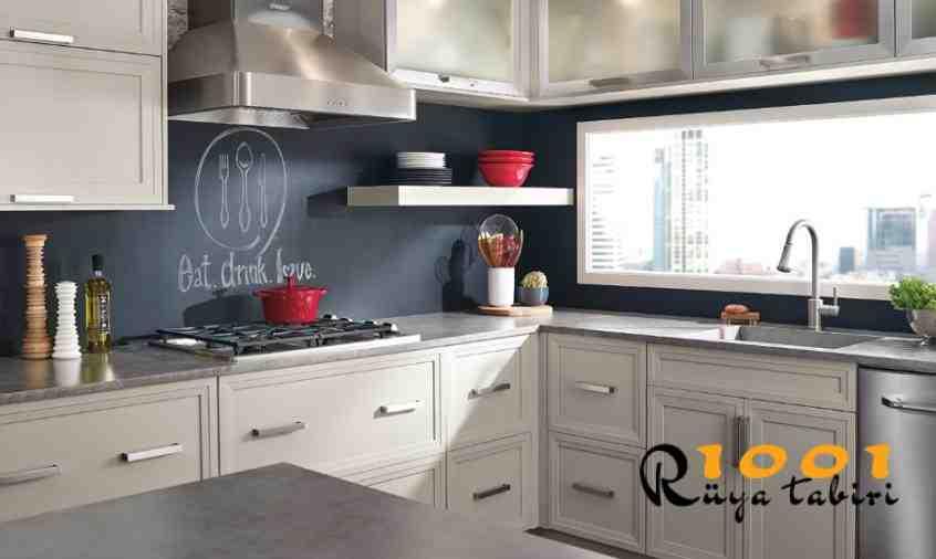 Rüyada Mutfak Görmek, Mutfak Dolabı Gormek Temizlemek