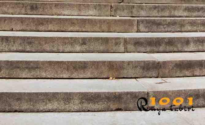 ruyada basamak-gormek-ruyada basmak cikmak-inmek-merdiven gormek-basamak-yapmak-demir-tahta-metal